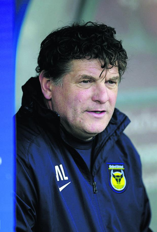 The Oxford Times: Oxford United caretaker boss Mickey Lewis