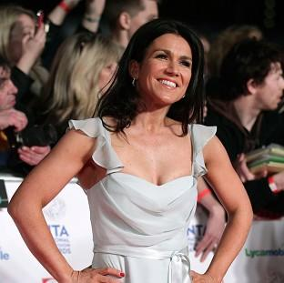 Susanna Reid was a finalist on Strictly Come Dancing