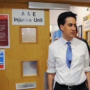 Ed Miliband said Labour's health plan would give NHS patien