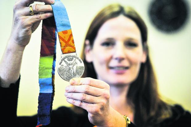The Oxford Times: Silver medallist and Olympic rower Alison Mowbray
