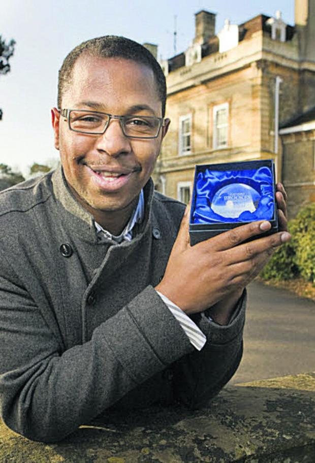 The Oxford Times: Education and outreach officer Jordon Maynard-Daley, 32