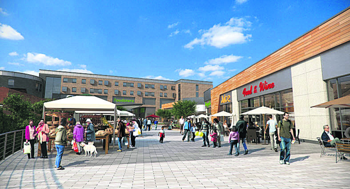 Market square is latest plan for £100m West Way revamp