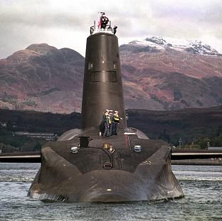 HMS Vanguard is to have its reactor refuelled after a test reactor was found to have a small internal leak of radiation