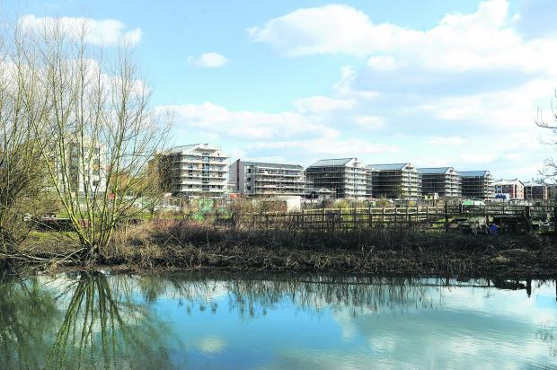 CONTROVERSIAL: The Castle Mill development in Oxford