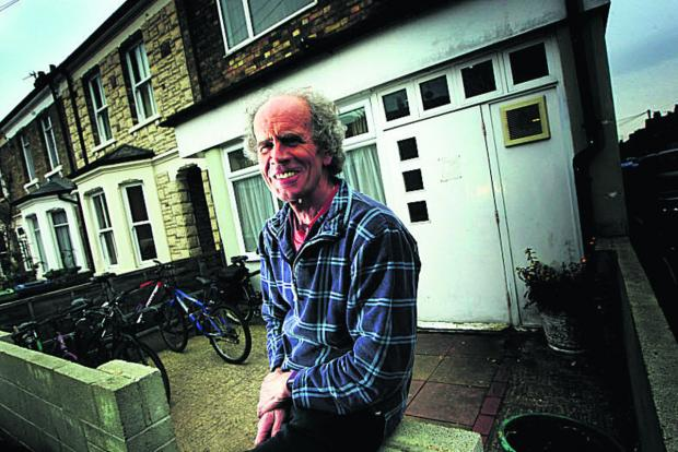 The Oxford Times: Nigel Northcott, director of The Porch Stepping Stone day centre in Magdalen Road