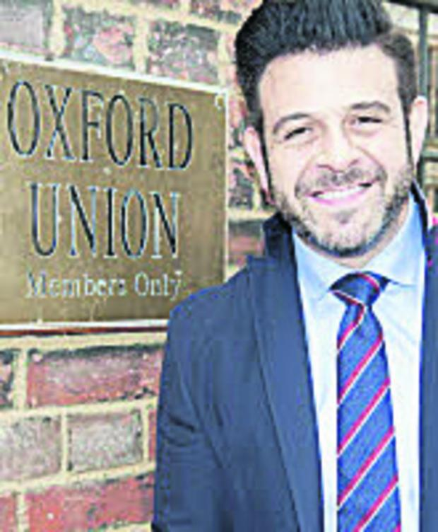 The Oxford Times: Man Vs Food takes on Union