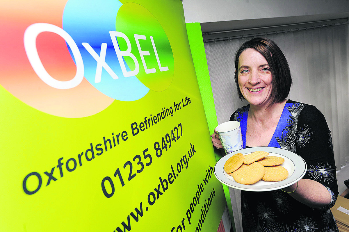 'Not morbid': Laura Freeth, of the befriending charity OxBEL