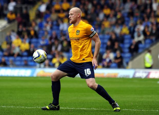 The Oxford Times: Andy Whing has set his sights on bringing Oxford United a much-needed victory tomorrow at Chesterfield