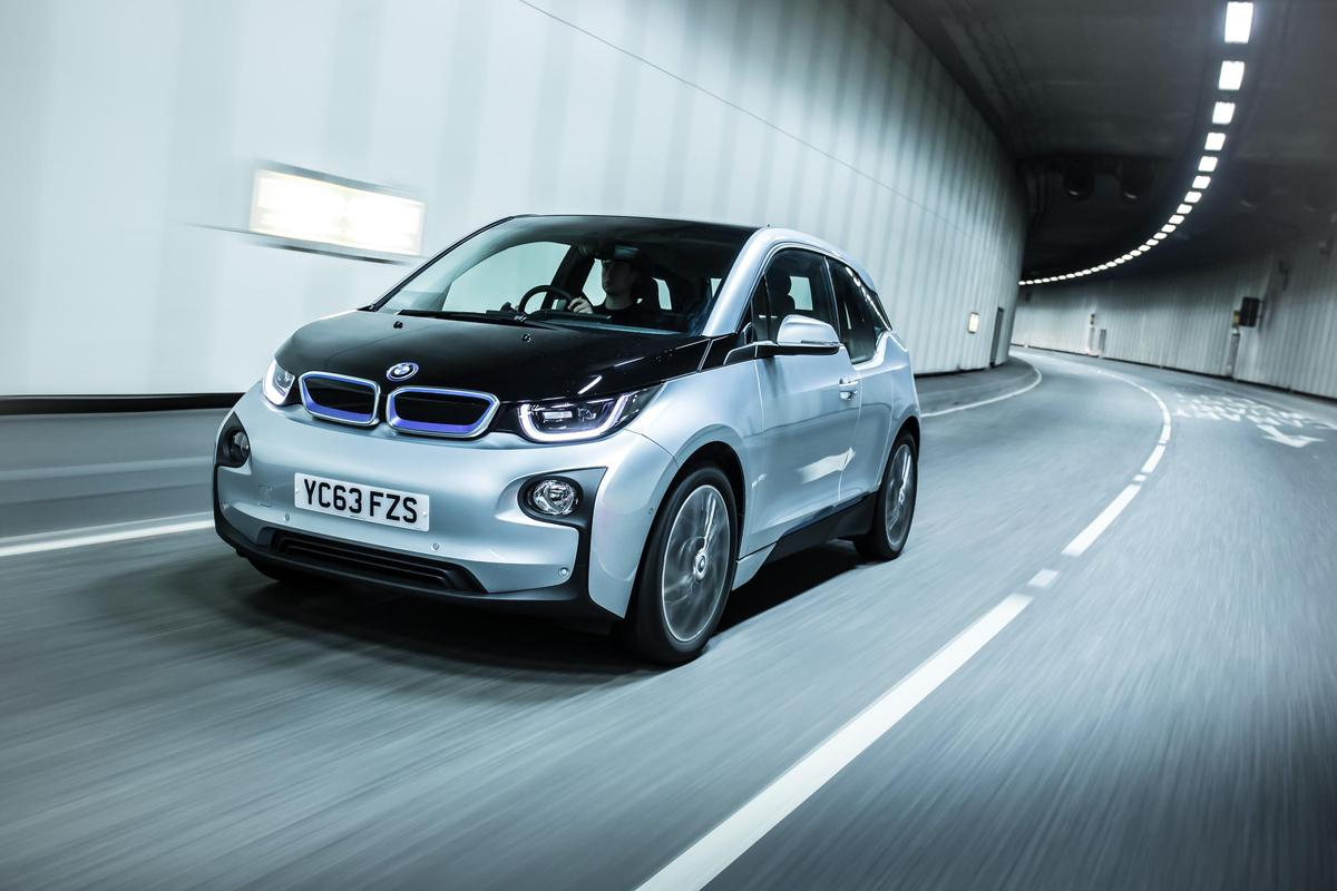 The award-winning BMW i3 electric car