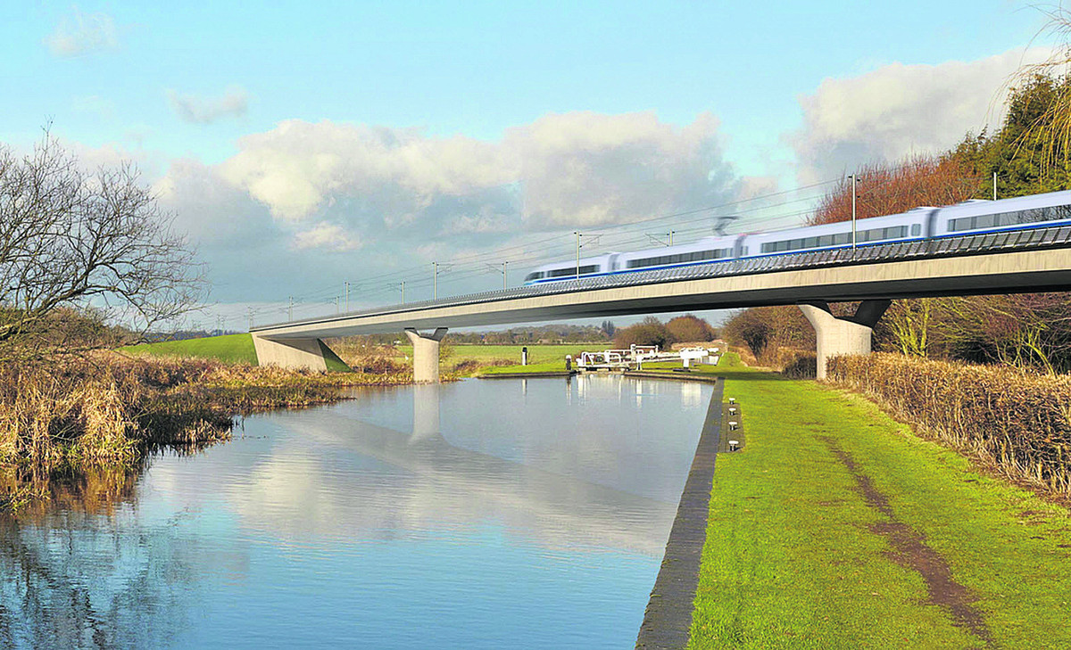 The planned HS2 line would skirt Mixbury and Finmere