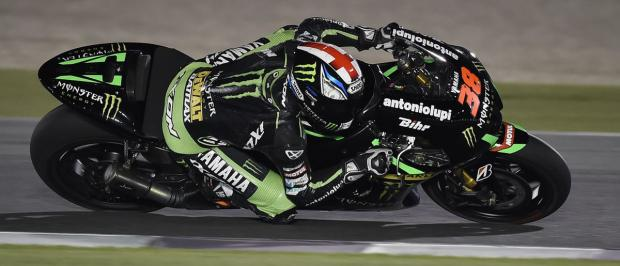 Bradley Smith in action on his Monster Tec 3 Yamaha