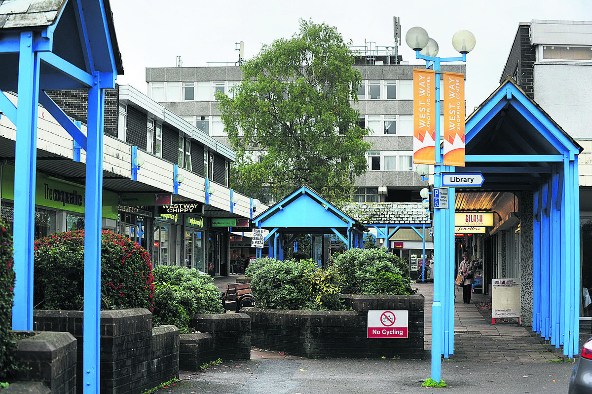The West Way Shopping Centre as it is today