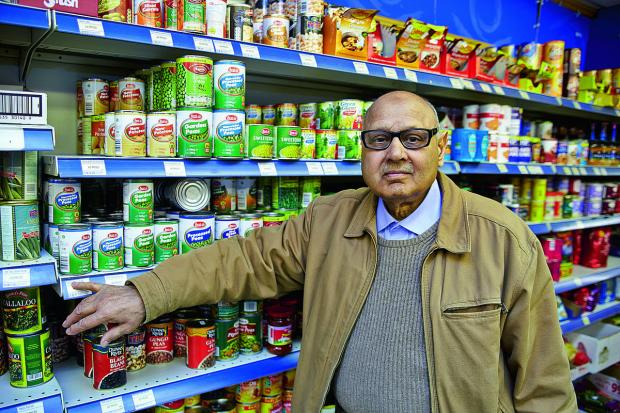 Nawaz Raja has been the owner of Best One shop in Blackbird Leys for 35 years, and yesterday was his last day in charge, as he prepared for retirement