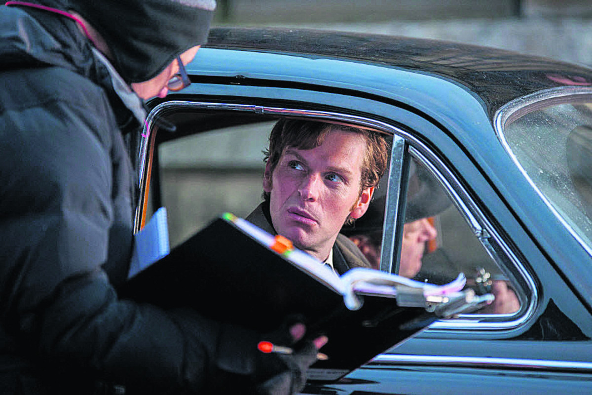 Shaun Evans as the young Morse in Endeavour