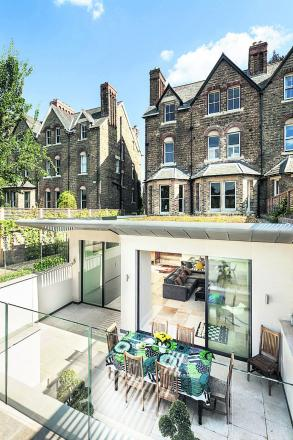 Riach Architects are nominated for a Victorian house extension