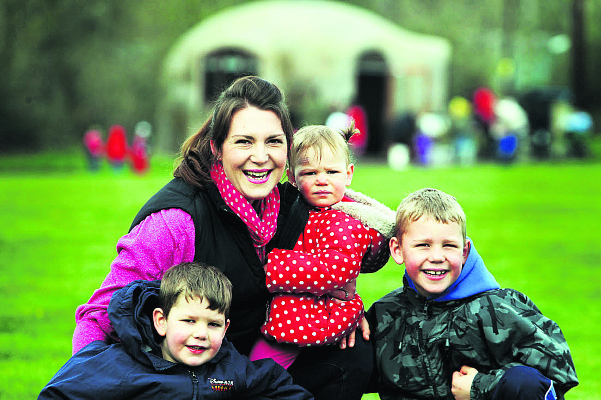The Hill End Centre which encourages children to enjoy the great outdoors is branching out