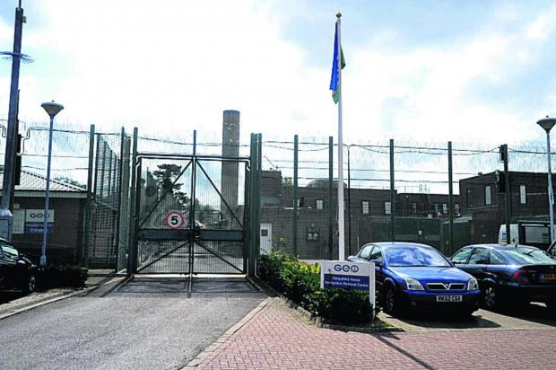 Campsfield House immigration detention centre