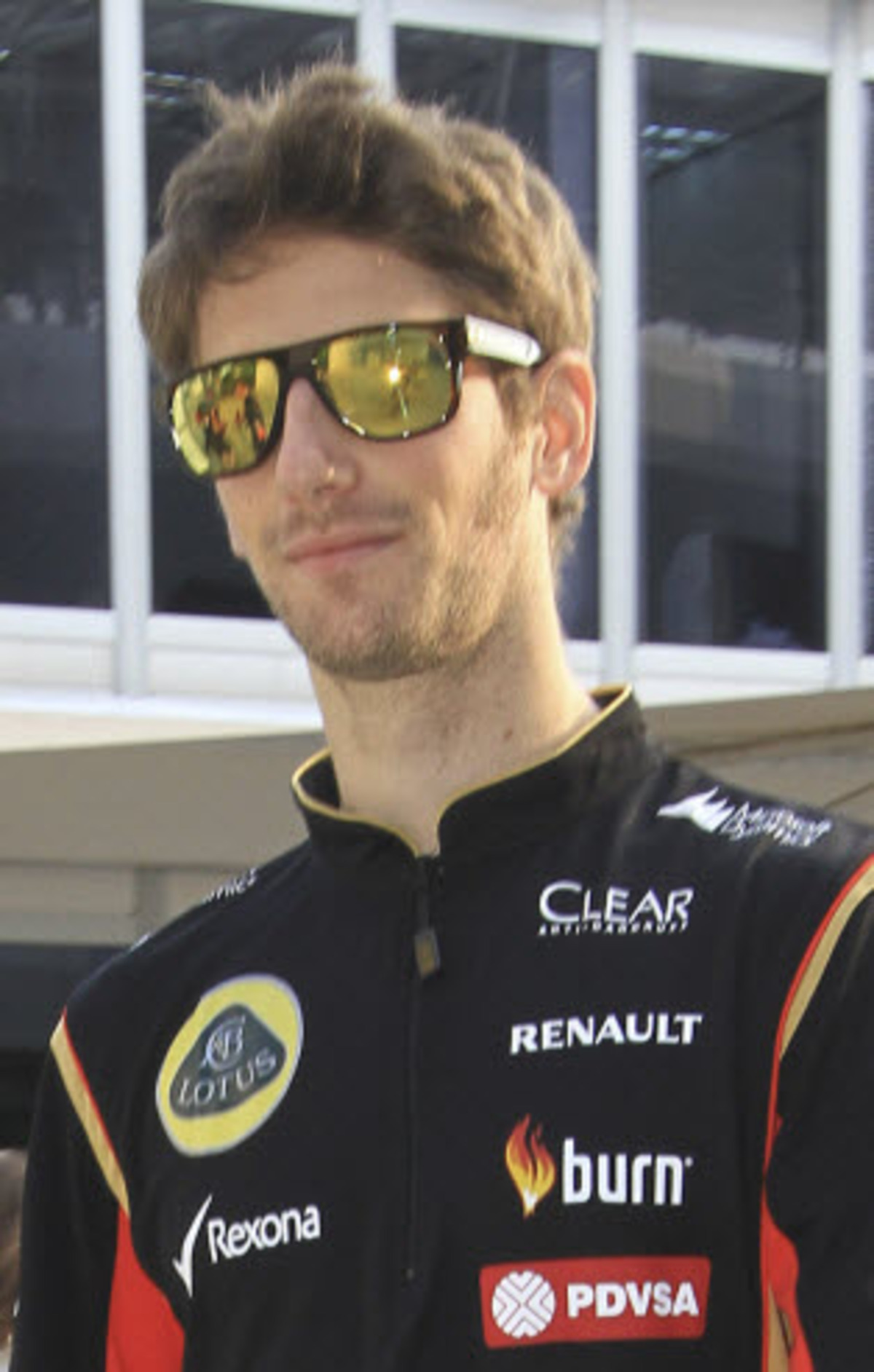 Romain Grosjean at Sepang
