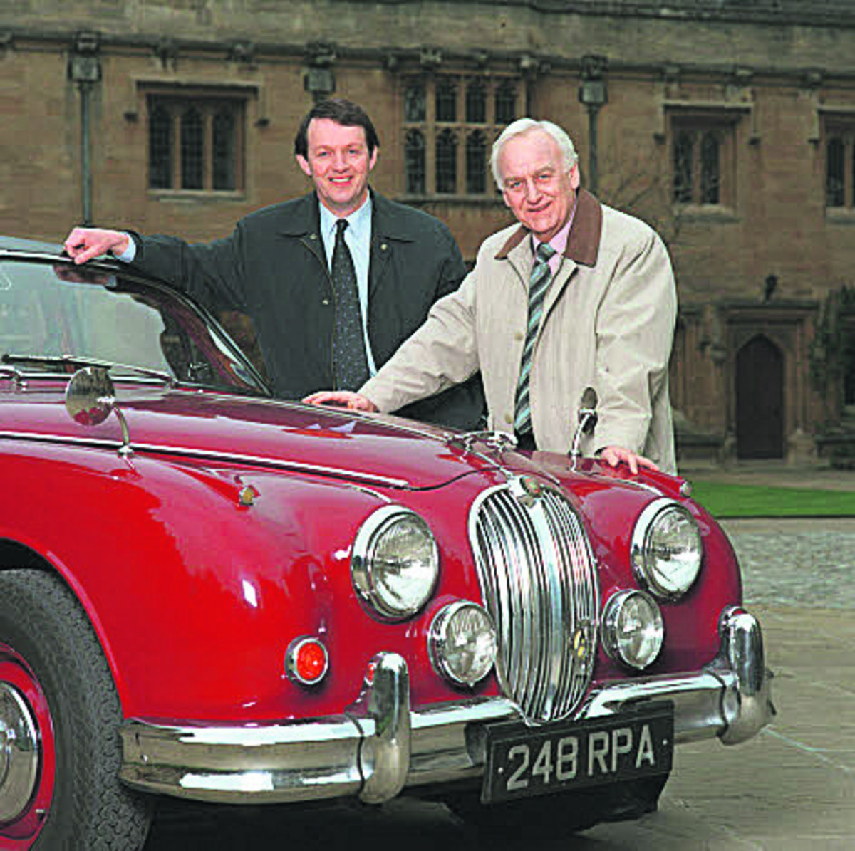 John Thaw, right, and Kevin Whately