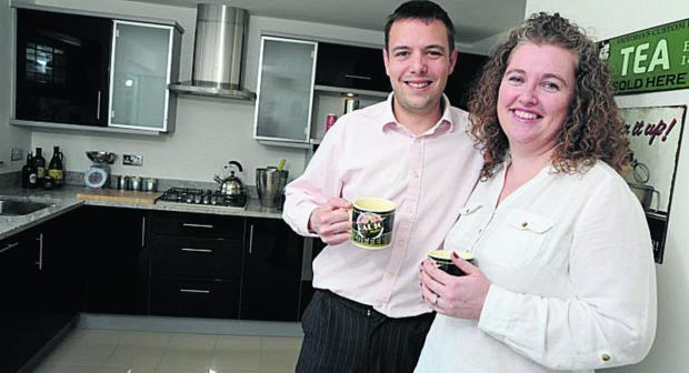 The Oxford Times: Teresa and Pete Brooke enjoy their new home