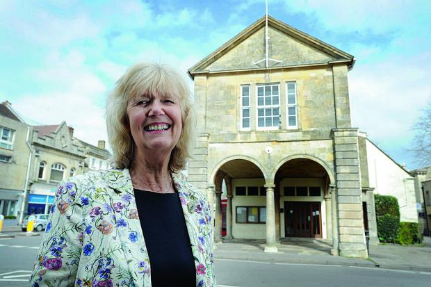 Cllr Jeanette Baker will be Witney's new mayor for 2014-15    Picture: OX66399 Jon Lewis