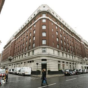 The Cumberland Hotel in central London, where three women were attacked with a hammer by an intruder in one of the rooms inside.