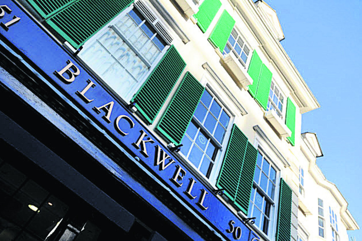 Blackwells bookshop in Broad Street