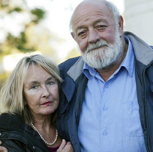 June Steenkamp and her husband Barry (Channel 5/PA)
