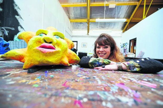 The Oxford Times: Lizzy McBain is running a project to make costumes for this year's Cowley Road Carnival