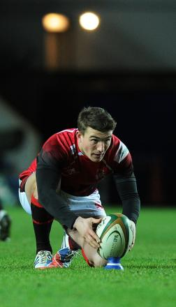 Alex Davies starts at fly half for London Welsh against Jersey today