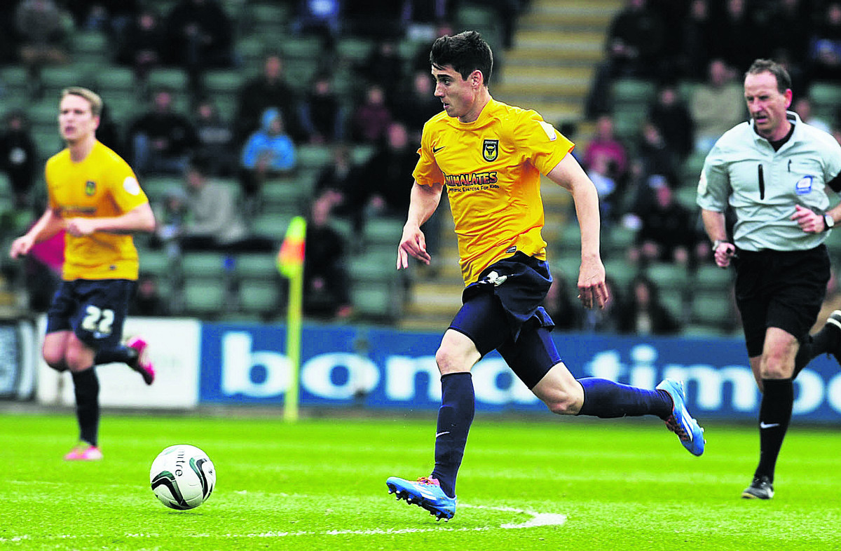 Callum O'Dowda in action at Plymouth