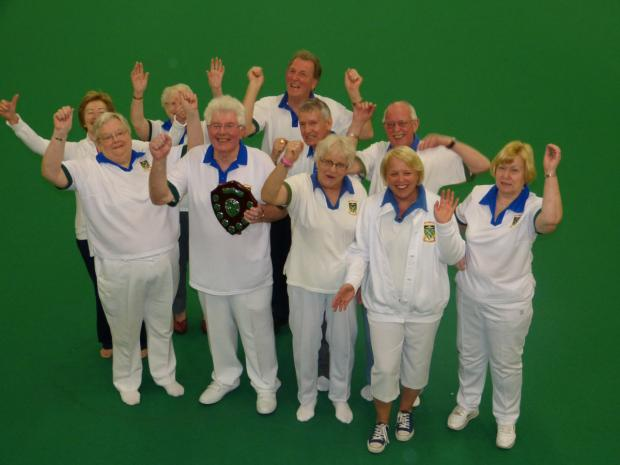 The Oxford Times: The victorious Didcot team celebrate their success