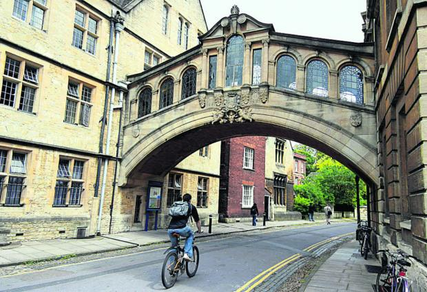 The Oxford Times: The pleasure of cycling in Oxford
