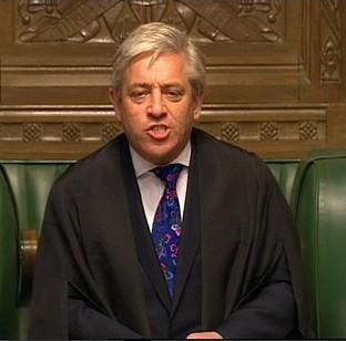 John Bercow says Parliament is