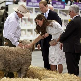 The Oxford Times: The Duke and Duchess of Cambridge at the Royal Easter Show at Sydney Olympic Park