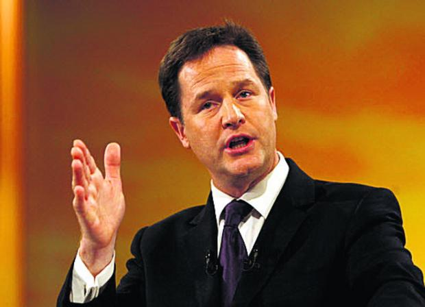 The Oxford Times: Deputy PM Nick Clegg