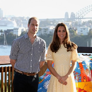 The Duke and Duchess of Cambridge are on a three-week tour of Australia and New Zealand