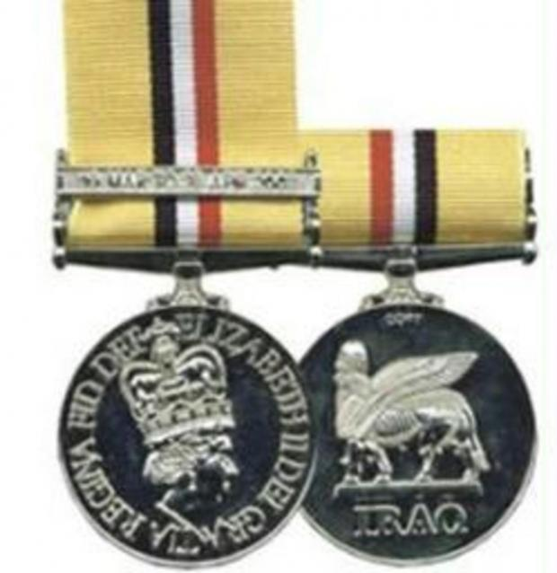 The Oxford Times: The Iraq medal
