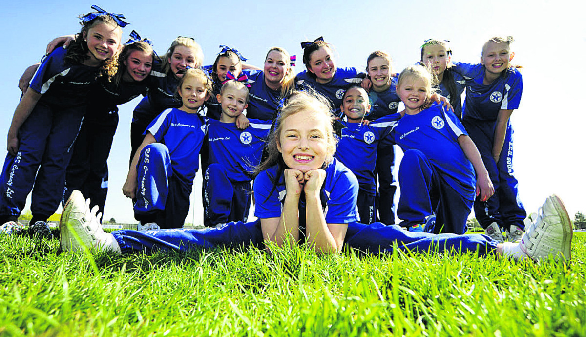 High-flying cheerleaders up for event