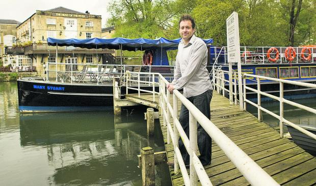 The Oxford Times: Oxford author Dr Simon Wenham has written Pleasure Boating on the Thames, A History of Salter Bros 1958-Present