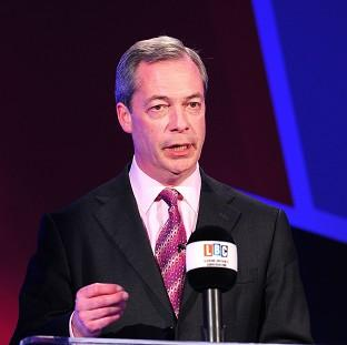 Nigel Farage claimed that only his wife was capable of being his assistant
