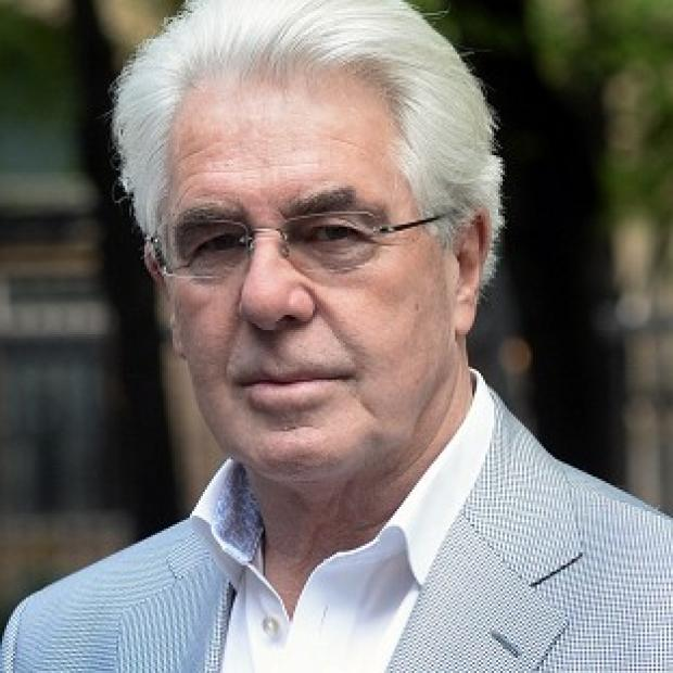 The Oxford Times: Publicist Max Clifford arrives at Southwark Crown Court in London