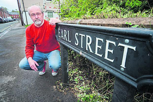 The Oxford Times: Earl Street resident Nick Hills