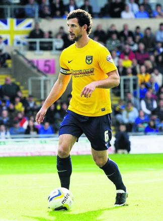 Oxford United captain Jake Wright