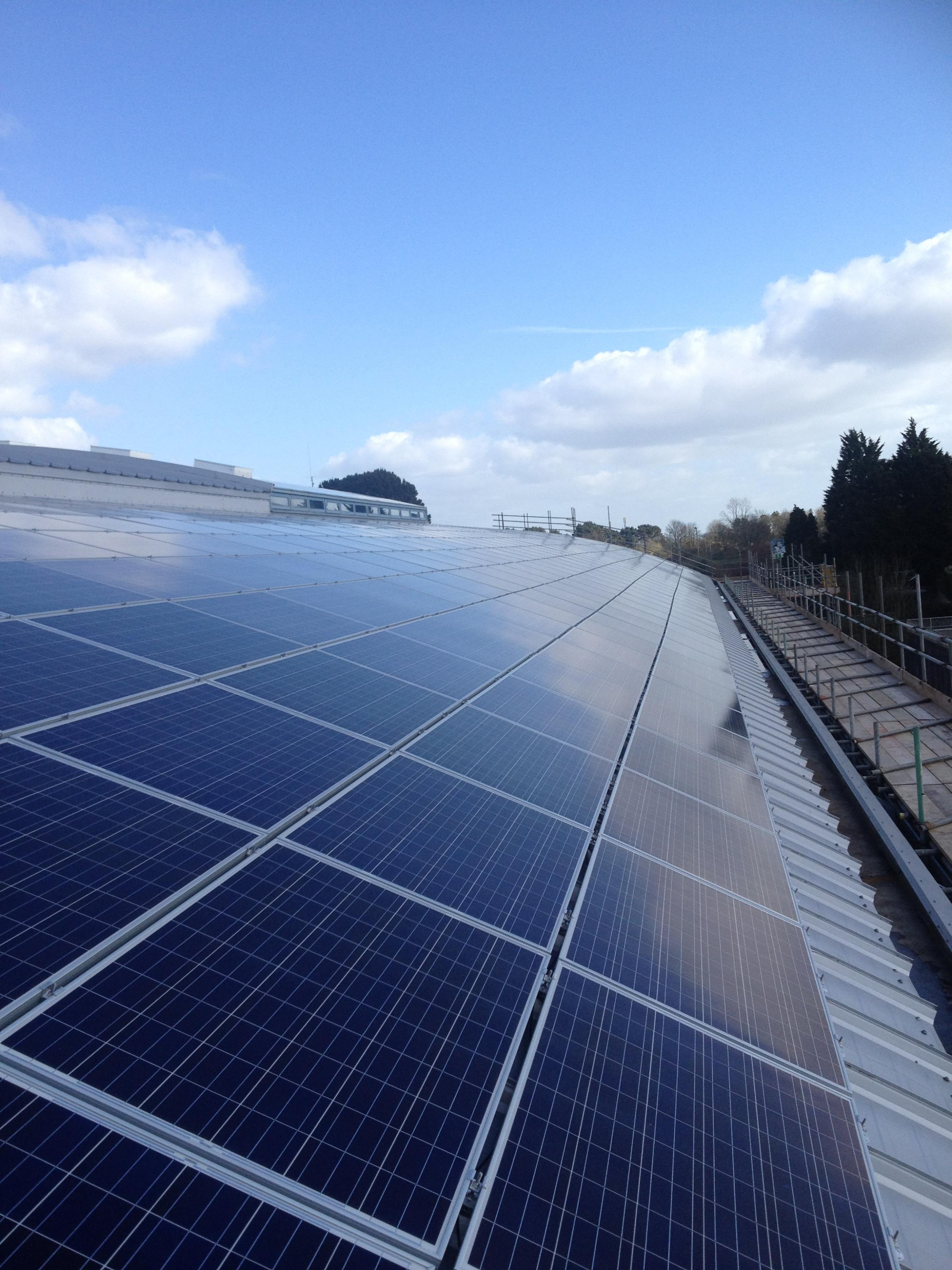 Low carbon Hub says schools and business buildings should have solar panels