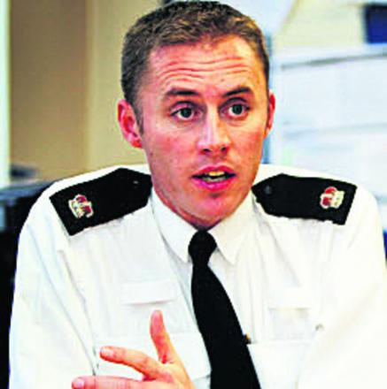 Oxford area police commander Supt Christian Bunt