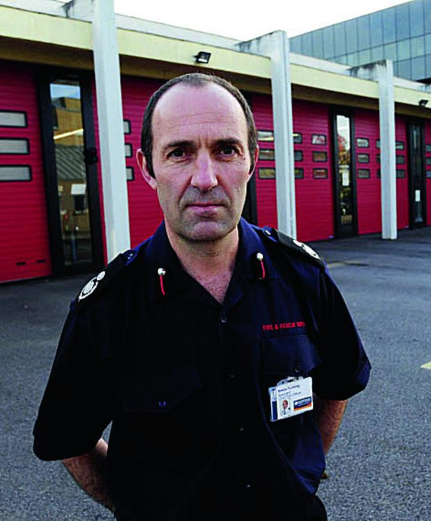 The Oxford Times: Assistant chief fire officer Simon Furlong