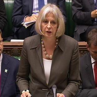 Home Secretary Theresa May is one of three female Cabinet members