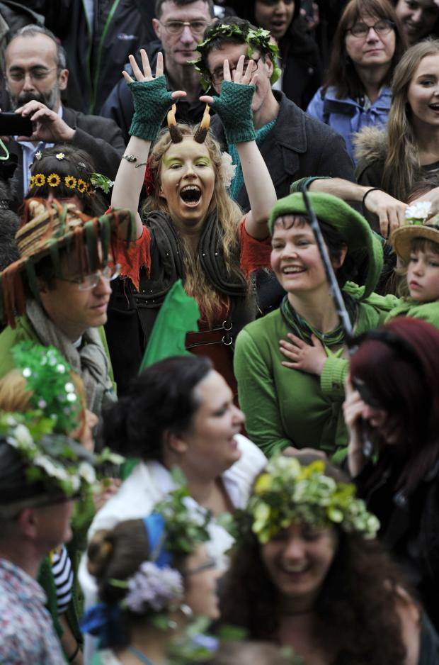 The Oxford Times: Pictures from the May Morning festivities in Oxford