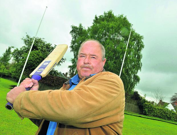 Club chairman Nigel Joyner says the resident who complained was made aware of the close proximity of the wicket when she bought the house		Picture: OX66921 Simon Williams